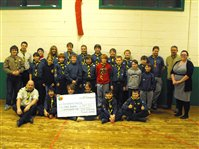 Onchan Scouts Rise To The Challenge - picture
