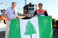 Tynwald 'races' to fly the flag for Norfolk Island - picture