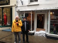 Flood aid 'a shambles', say shopkeepers - picture