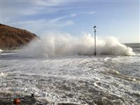Weather warning for east coast - picture