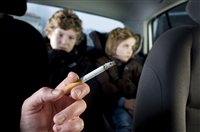 Smoking ban in cars? - picture