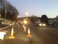 Roadworks setback won't cost tax payer - picture
