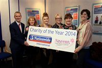 Nationwide staff announces charity of the year - picture