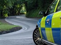 Police investigate car danger - picture