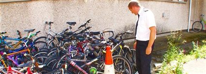 Isle of Man News Image - Dumped bikes