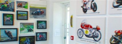 Isle of Man News Image - Motorcycle art