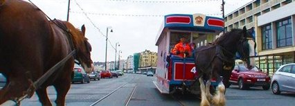 Isle of Man News Image - MTTV archive: End of an era for horse tram service