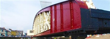 Isle of Man News Image - Ramsey swing bridge to re-open