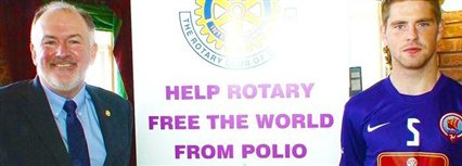 Isle of Man News Image - Goal to end polio