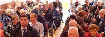 Isle of Man News Image - Laxey flood defence meeting