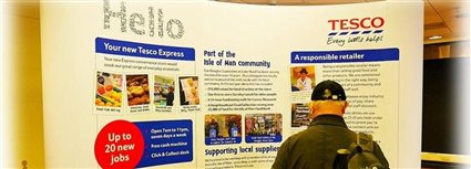 Isle of Man News Image - Tesco plans on show