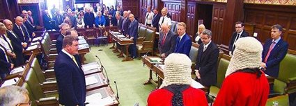 Isle of Man News Image - House of Keys swearing in
