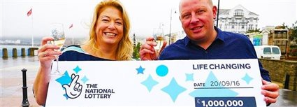 Isle of Man News Image - Lottery winners
