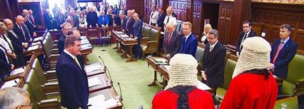 Isle of Man News Image - Manx language commentary: MHK's swearing in