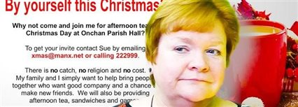 Isle of Man News Image - By yourself this Christmas