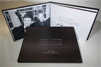 "Eddie Redmayne signed limited edition book of ""100 years of General Relativity"" released - picture"