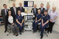 Henry Bloom Noble Healthcare Trust donates £68,000 to endoscopy services - picture