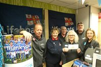 Local store raises money for Peel RNLI Lifeboat - picture