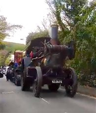 Festival of Steam update regarding movement of steam traction procession - picture