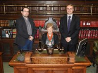 ICAEW president visits Island - Speaker Watterson picks up top-level post in London - picture