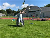 Pupils with disabilities enjoy athletics festivals - picture