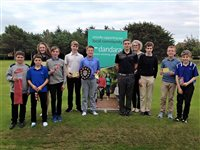 Award-winning homebuilder Dandara continues support for youngsters at Peel Golf Club - picture
