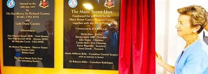 Isle of Man News Image - New breast cancer unit officially opened
