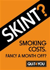 Smoking costs – how about a month off this October? - picture