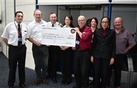 Steam Packet Company passengers donate £11,000 to MGP charity - picture
