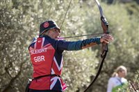 Lesley competed for Great Britain at World 3D Championships - picture
