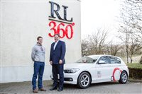 RL360° presents car to Olympic shooter Tim Kneale - picture