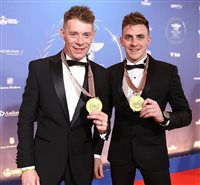 Birchall brothers honoured to receive medals at FIM awards ceremony - picture