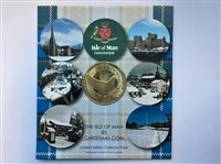 Release of Isle of Man Christmas £5 coin - picture