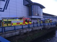 'Severe' damage after fire at NSC - picture