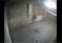 Police find vandal who urinated on keypad - picture