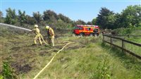 Bonfire blazes spark emergency call out - picture
