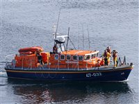 Lifeboat launched after someone is heard calling for help - picture