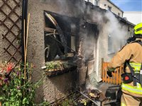 Homes evacuated after explosion in Ramsey - picture