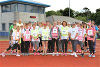 School staff step out to support Manx Telecom Parish Walk - picture