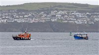 Two rescued after boat suffers engine failure  - picture