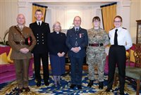 Island Cadet honoured for his work - picture