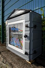 Free Little Library opens in Noble's Park - picture
