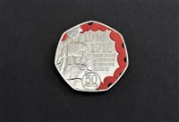Students to receive minted coin to mark Armistice Day - picture