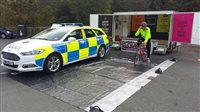 Police aim to 'educate drivers' about cyclists - picture