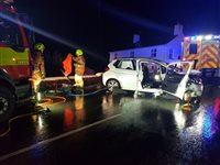 Motorists urged to take care after three crashes in 13 hours - picture
