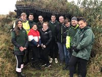 Volunteers dig deep at Community Farm - picture