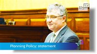 Planning Policy: statement by the Minister for Policy and Reform - picture