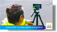 Automatic number plate recognition - picture