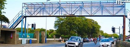 Isle of Man News Image - TT bridge closed