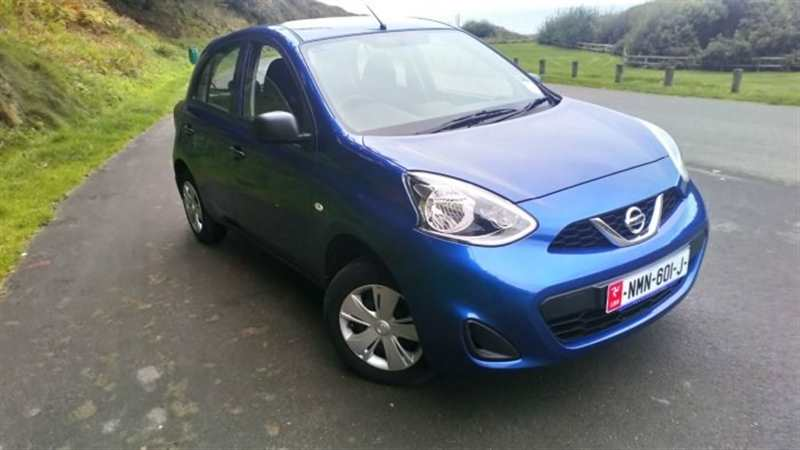 Nissan Micra 1.2 Visia 5dr ONLY £68 TAX